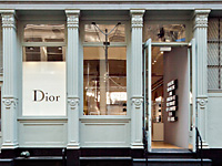 Dior Homme pop up