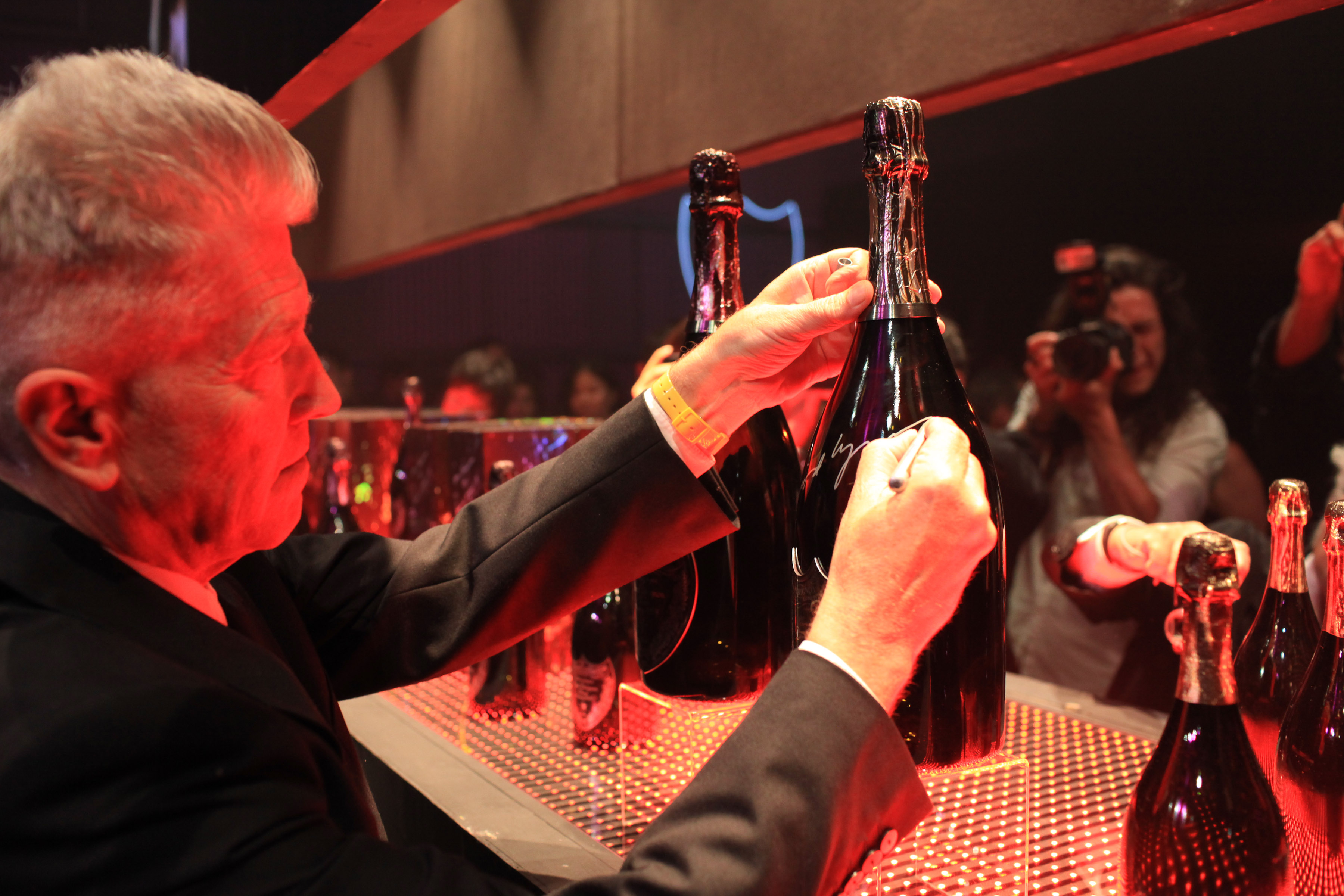 "DAVID LYNCH & DOM PERIGNON Celebrate the Global Launch of ""DOM PERIGNON by DAVID LYNCH"""