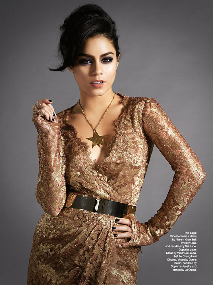 Vanessa Hudgens photographed by Indira Cesarine for The Untitled Magazine