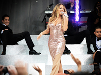 central park music series - Mariah Carey2
