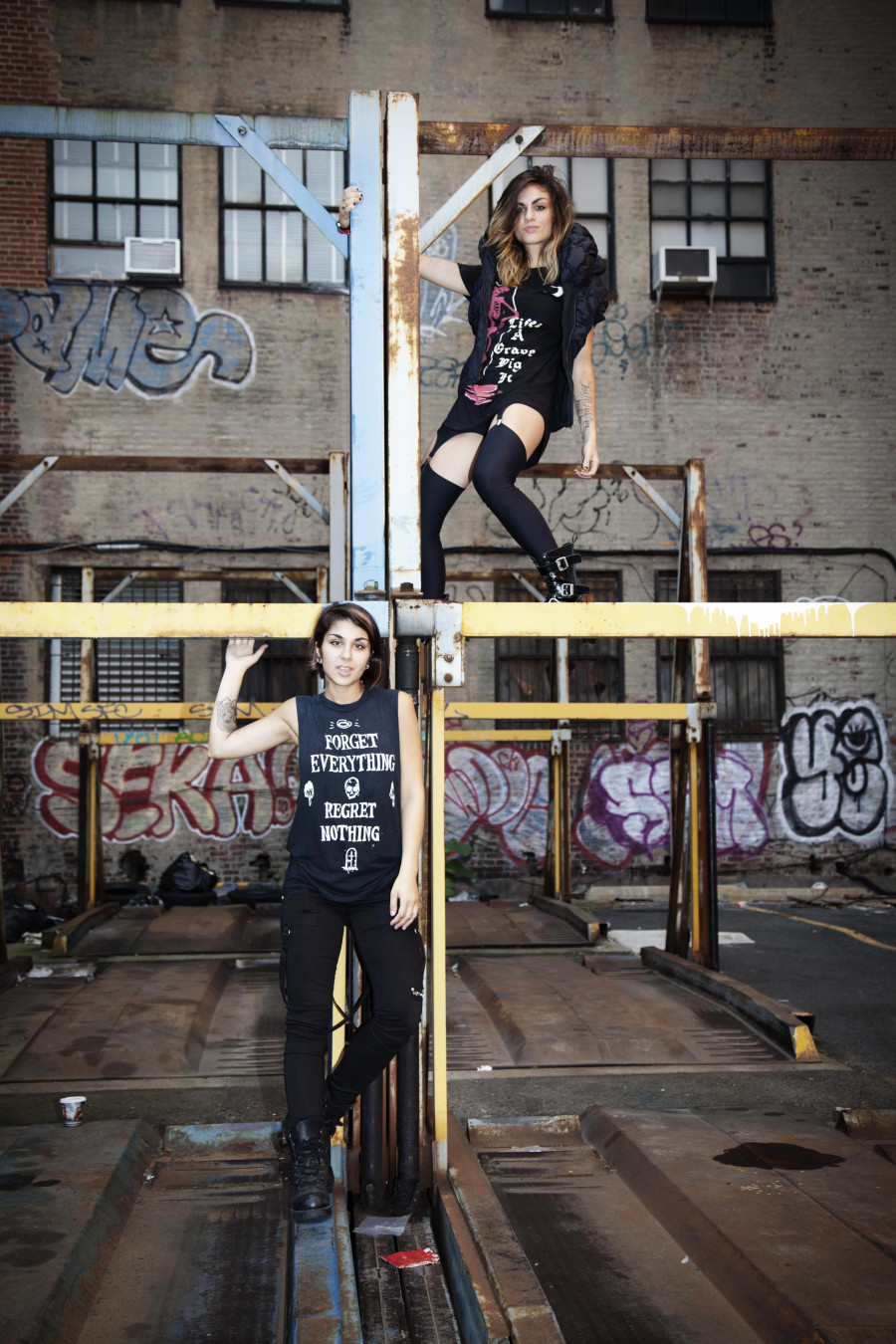 Krewella by Indira Cesarine THE UNTITLED MAGAZINE