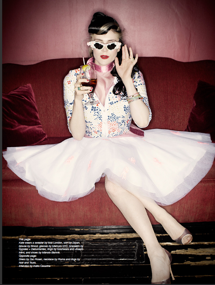 Kate Nash photographed for The Music Issue 6