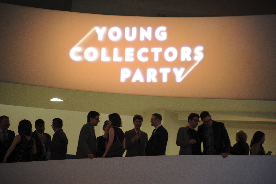 NEW YORK, NY - FEBRUARY 27: General view during 2014 Guggenheim Young Collectors Party at the Guggenheim Museum supported by David Yurman on February 27, 2014 in New York City. (Photo by Ilya S. Savenok/Getty Images)
