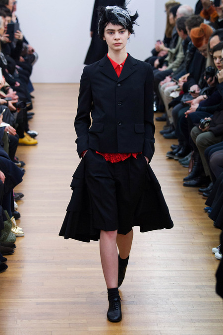 COMME DES GARCONS – PARIS – FALL/WINTER 2014 RUNWAY SHOW – THE UNTITLED MAGAZINE