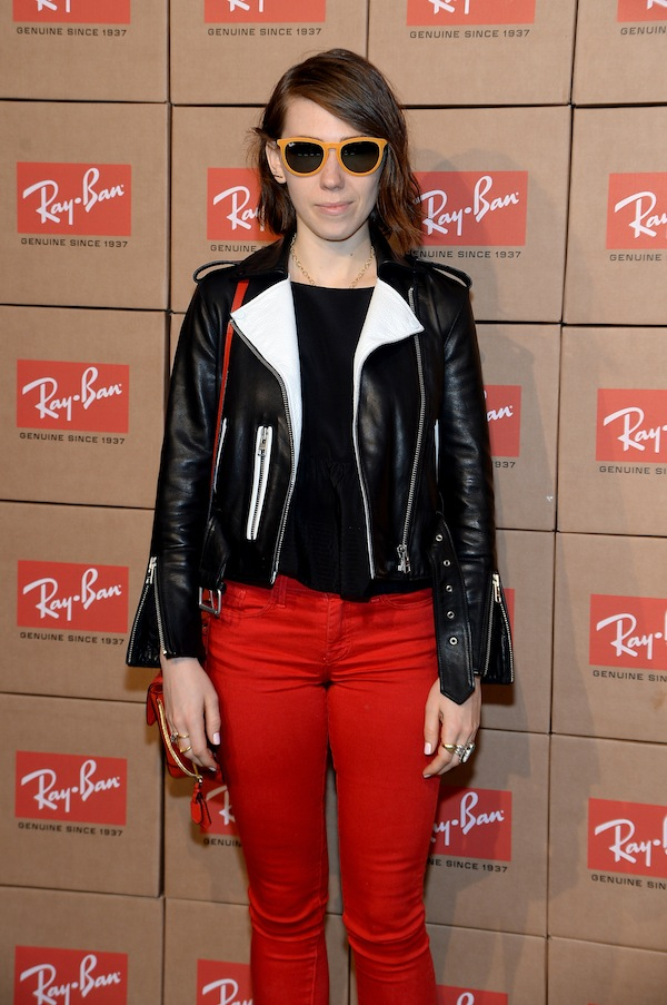 NEW YORK, NY - MAY 15: Actress Zosia Mamet attends Ray-Ban celebrates District 1937 featuring Blondie and MS MR on May 15, 2014 in New York City. (Photo by Jamie McCarthy/Getty Images for Luxottica) *** Local Caption *** Zosia Mamet