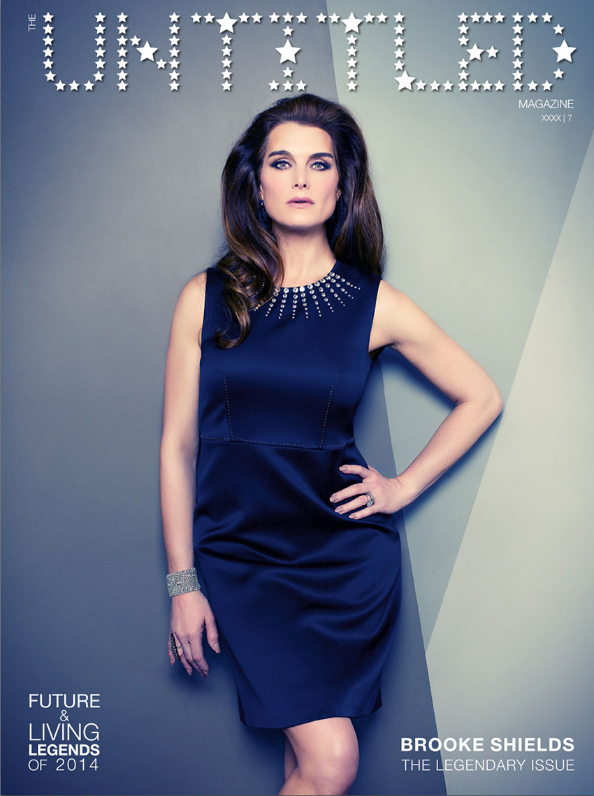Brooke Shields - Indira Cesarine - The Untitled Magazine_cover
