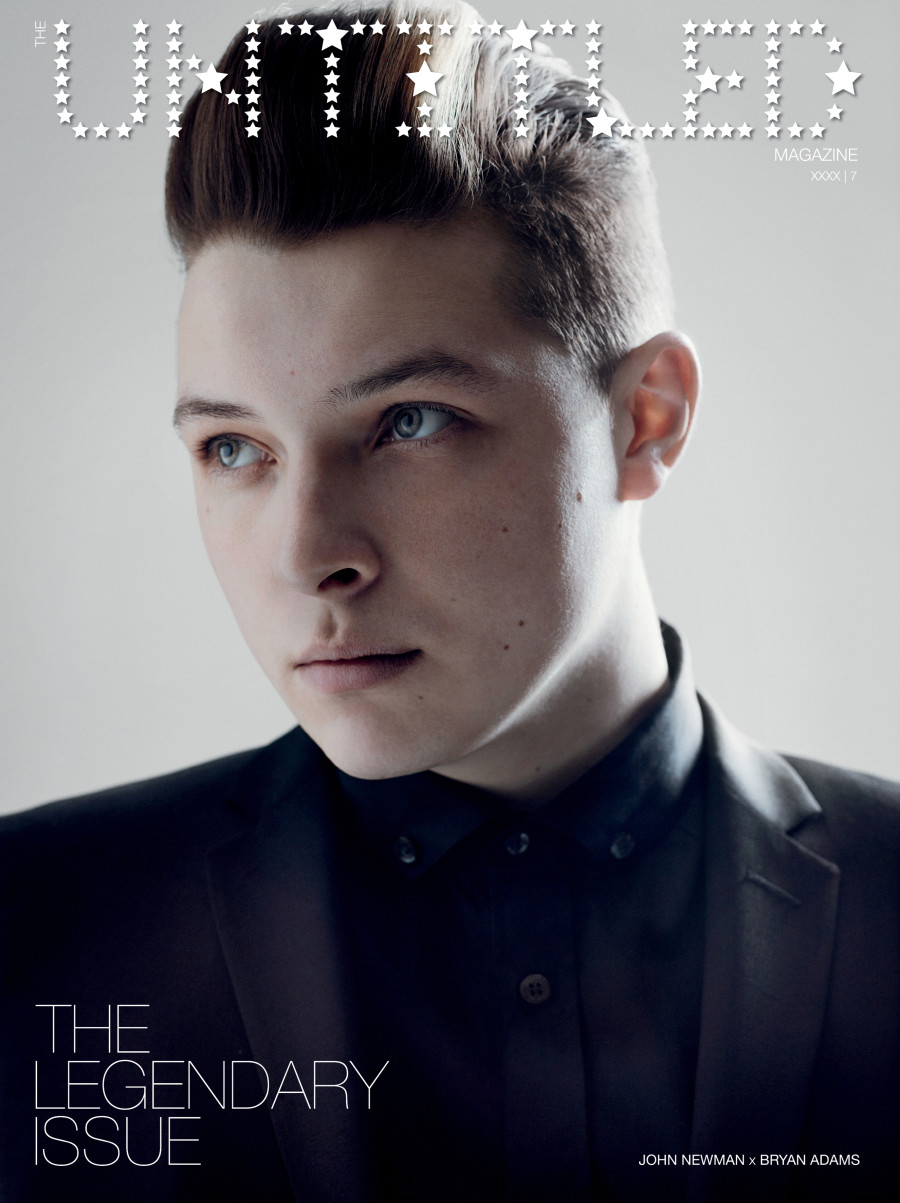 John Newman: Photography by Bryan Adams for The Untitled Magazine.