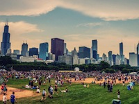 Lollapalooza photo by Joshua Mellin