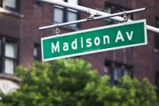 madison ave street sign