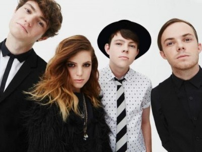 Echosmith; Noah, Sydney, Graham, and Jamie Sierota