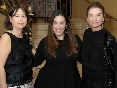 (featured)Alexandra Shulman OBE, Mary Katrantzou and Natalie Massenet MBE (Darren Gerrish, British Fashion Council)