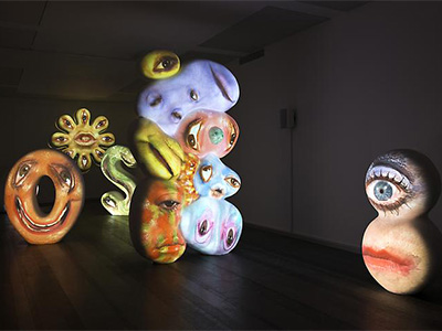 Tony Oursler imponderable
