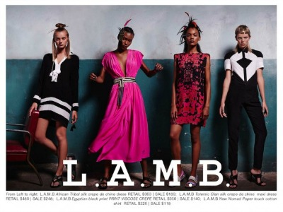 LAMB sample sale featured