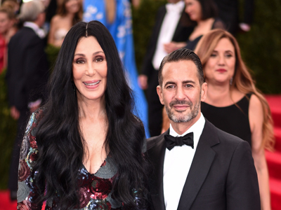 Cher & Marc Jacobs