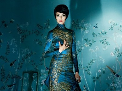 A look from the Costume Institute's China Through the Looking Glass Exhibit