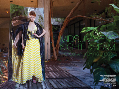 """Midsummers Night Dream"" Photography by Iris Brosch for The Untitled Magazine"