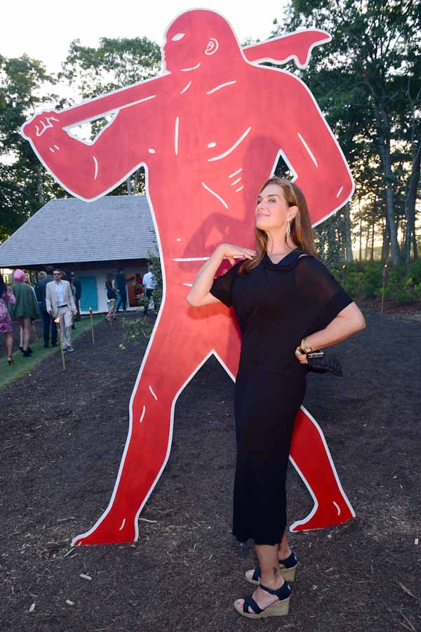 Brooke Shields==Circus of Stillness... the power over wild beasts?: The 22nd Annual Watermill Center Summer Benefit & Auction==The Watermill Center, Watermill, NY==July 25, 2015==©Patrick McMullan==Photo - Sean Zanni/PatrickMcMullan.com====