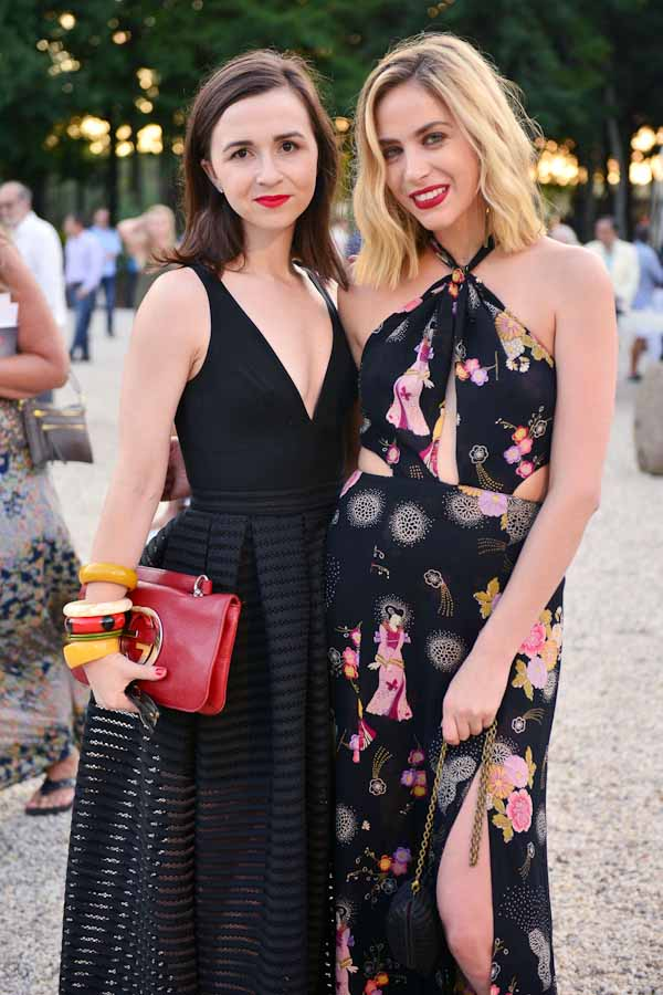 Molly Rowe, Cait Munro==Circus of Stillness... the power over wild beasts: The 22nd Annual Watermill Center Summer Benefit & Auction==The Watermill Center, Watermill, NY==July 25, 2015==©Patrick McMullan==Photo - Jared Siskin/PatrickMcMullan.com== ==