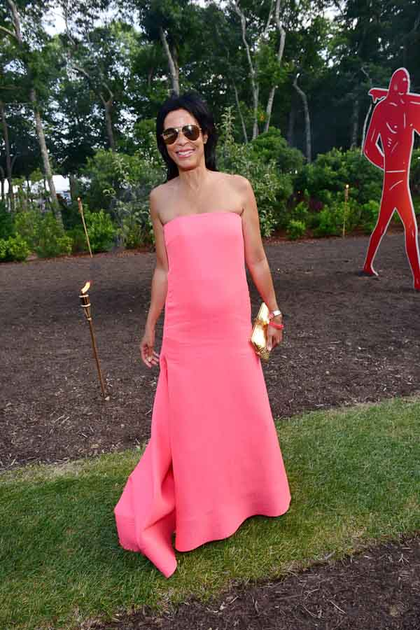 Kim Heirston Evans==Circus of Stillness... the power over wild beasts?: The 22nd Annual Watermill Center Summer Benefit & Auction==The Watermill Center, Watermill, NY==July 25, 2015==©Patrick McMullan==Photo - Sean Zanni/PatrickMcMullan.com====