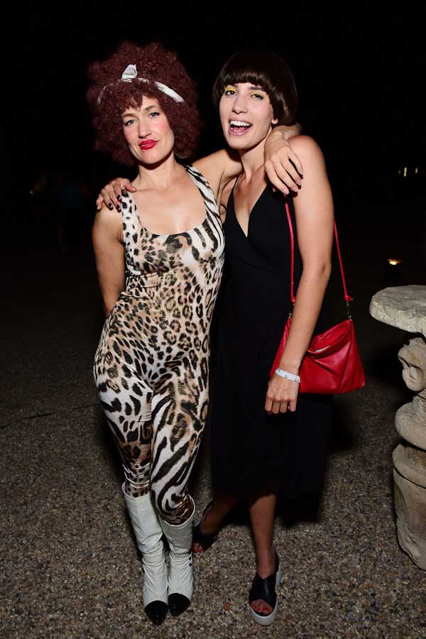 Sierra Casady, Nadya Tolokonnikova==Circus of Stillness... the power over wild beasts?: The 22nd Annual Watermill Center Summer Benefit & Auction==The Watermill Center, Watermill, NY==July 25, 2015==©Patrick McMullan==Photo - Sean Zanni/PatrickMcMullan.com====