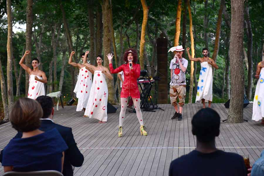 Atmosphere==Circus of Stillness... the power over wild beasts?: The 22nd Annual Watermill Center Summer Benefit & Auction==The Watermill Center, Watermill, NY==July 25, 2015==©Patrick McMullan==Photo - Sean Zanni/PatrickMcMullan.com====