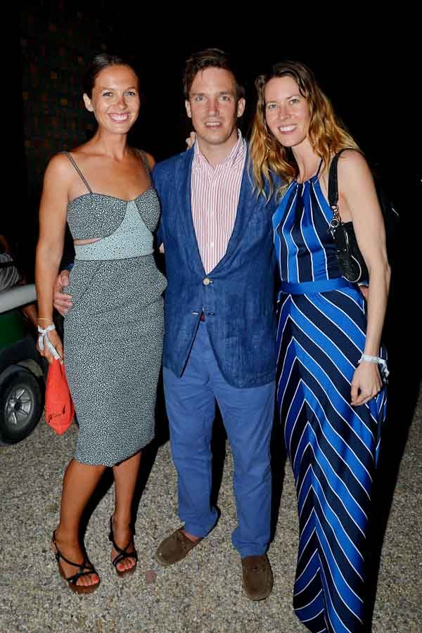 Frances Chedid, Martin Brand, Noel Moseley==Circus of Stillness - the power over wild beasts: The 22nd Annual Watermill Center Summer Benefit and Auction==The Watermill Center, Water Mill, NY==July 25, 2015==©Patrick McMullan==Photo - Patrick McMullan/PatrickMcMullan.com====