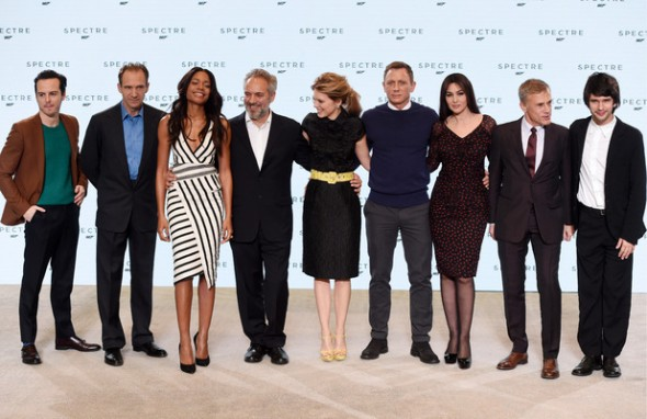 Spectre Cast and Director Photo