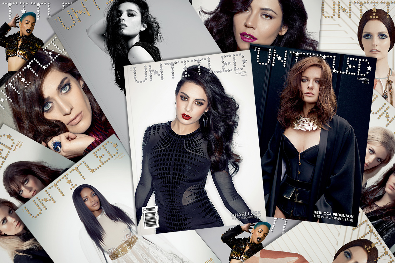The Untitled Magazine GirlPower Issue 8 Covers