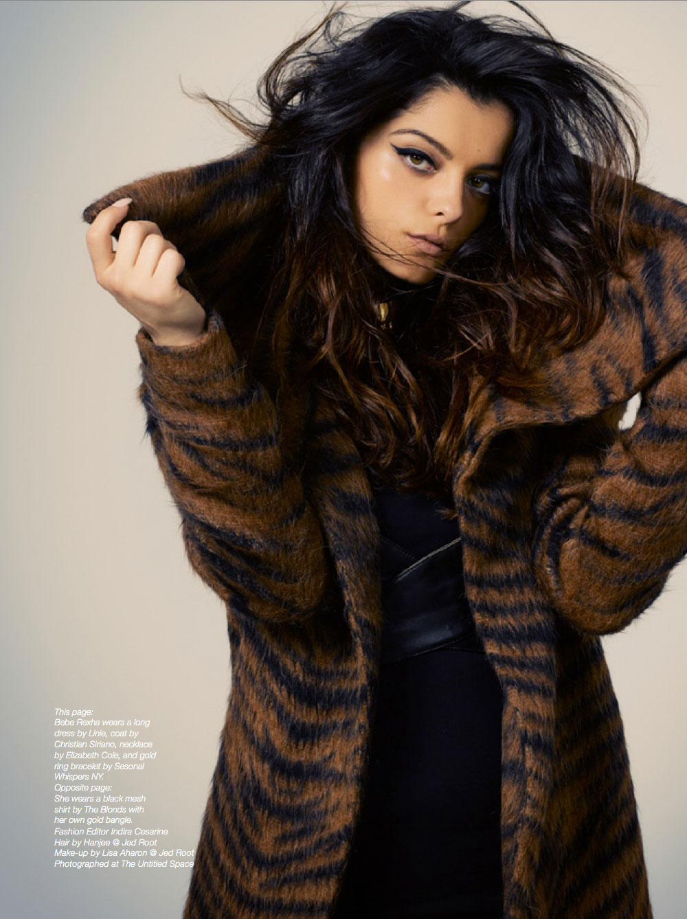 Bebe Rexha - Indira Cesarine - The Untitled Magazine Issue 8_1
