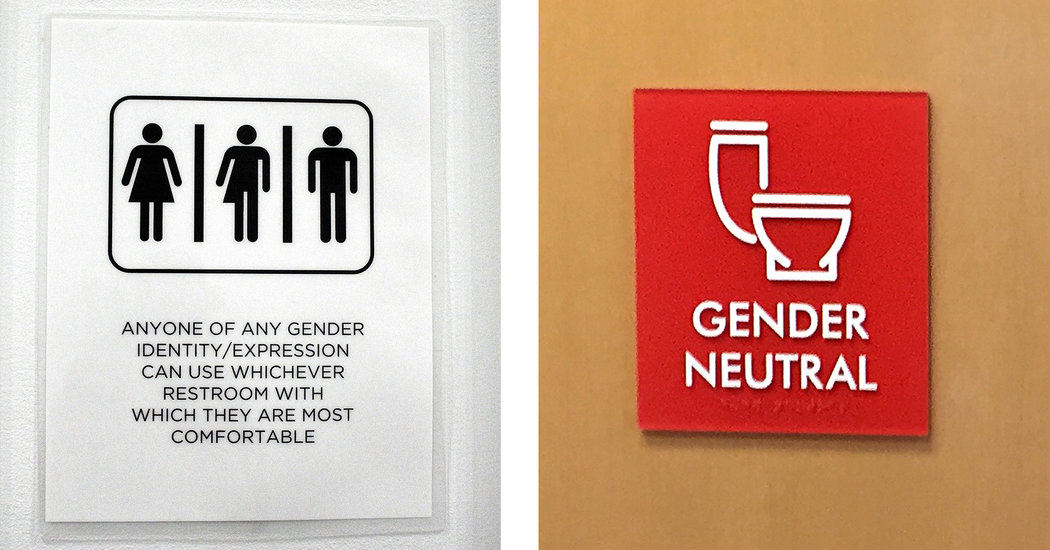 BLURRING GENDERS - SIGNS OF THE TIMES