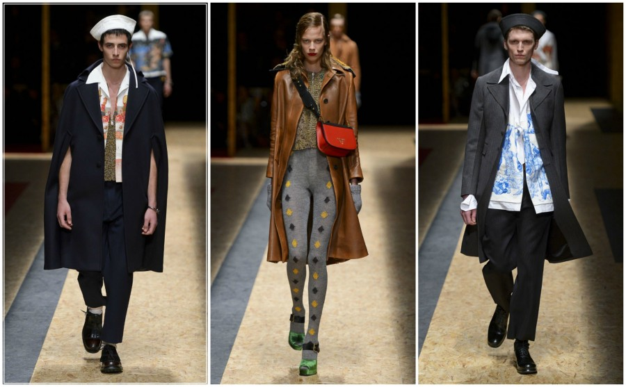 Prada Mens Fall 2016 - Photos Courtesy of WWD