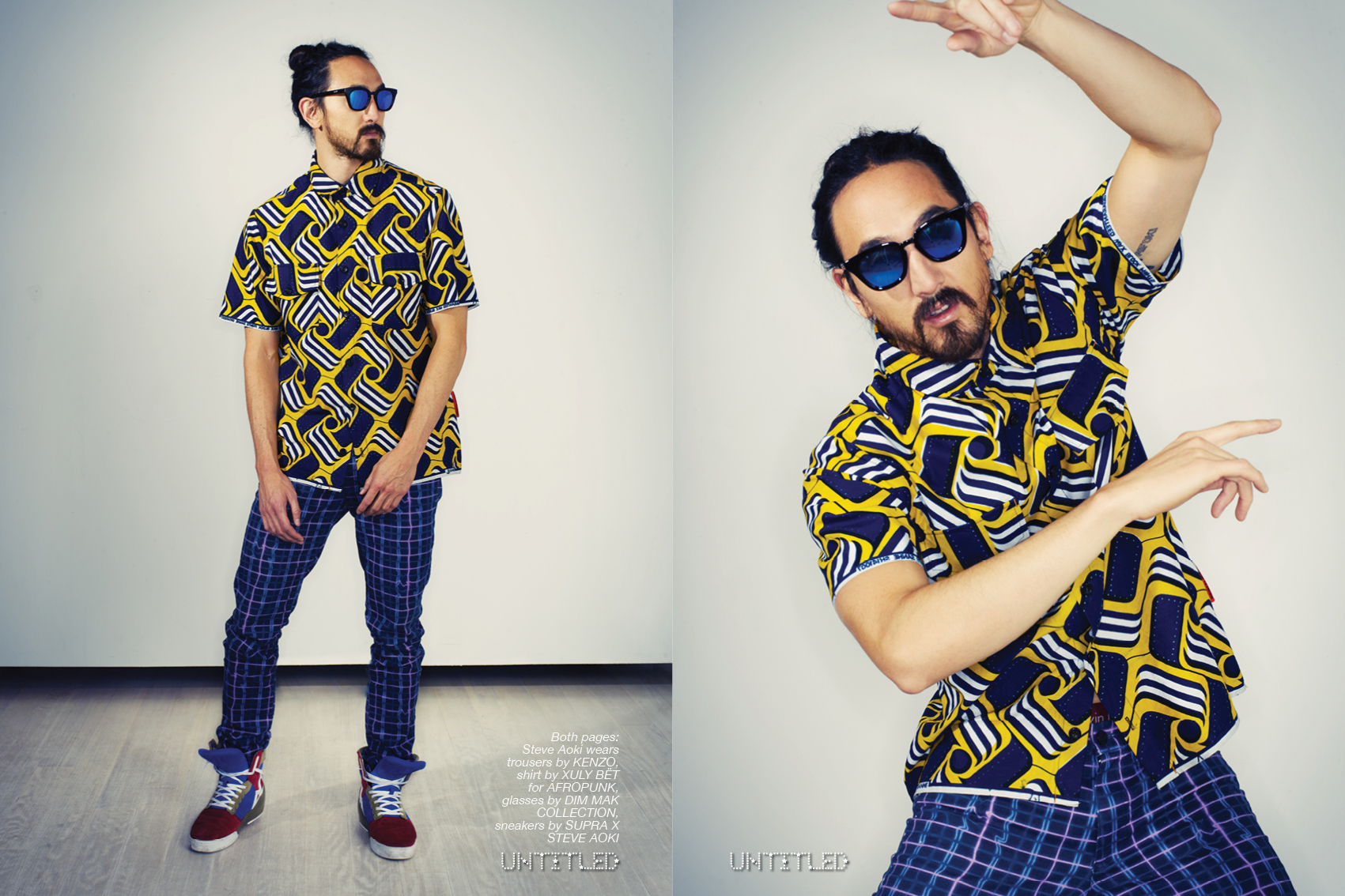 Steve Aoki - The Untitled Magazine - Photography by Indira Cesarine