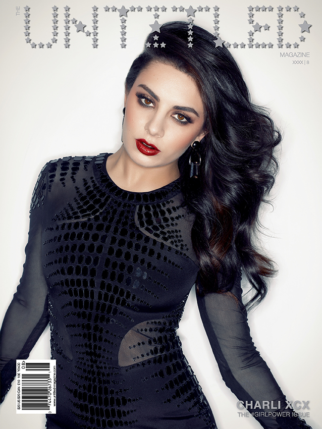 Charli XCX Cover - The Untitled Magazine GirlPower Issue 8 - Photography by Indira Cesarine