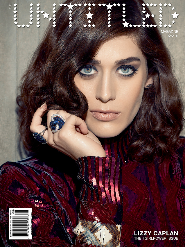 Lizzy Caplan Cover - The Untitled Magazine GirlPower Issue 8 - Photography by Indira Cesarine