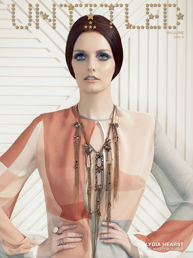 Lydia Hearst Cover - The Untitled Magazine GirlPower Issue 8 - Photography by Indira Cesarine