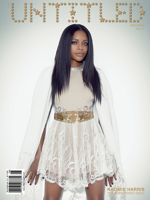 Naomie Harris Cover - The Untitled Magazine GirlPower Issue 8 - Photography by Indira Cesarine