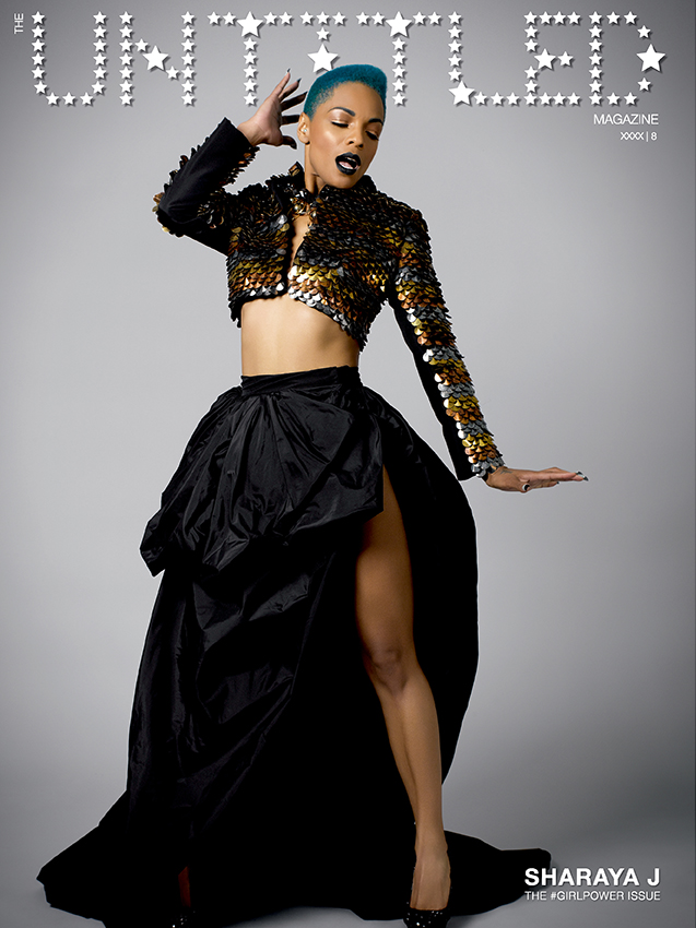 Sharaya J Cover - The Untitled Magazine GirlPower Issue 8 - Photography by Indira Cesarine, Styling by Phillip Bloch