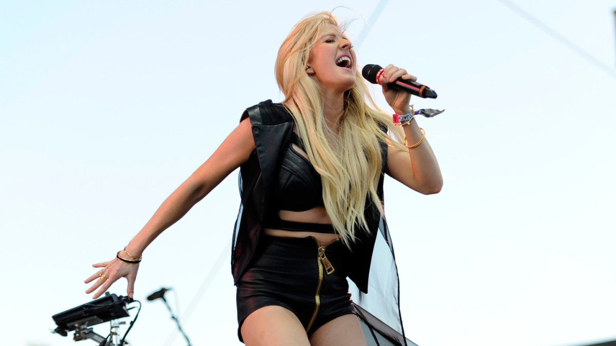 Ellie Goulding at Coachella 2015