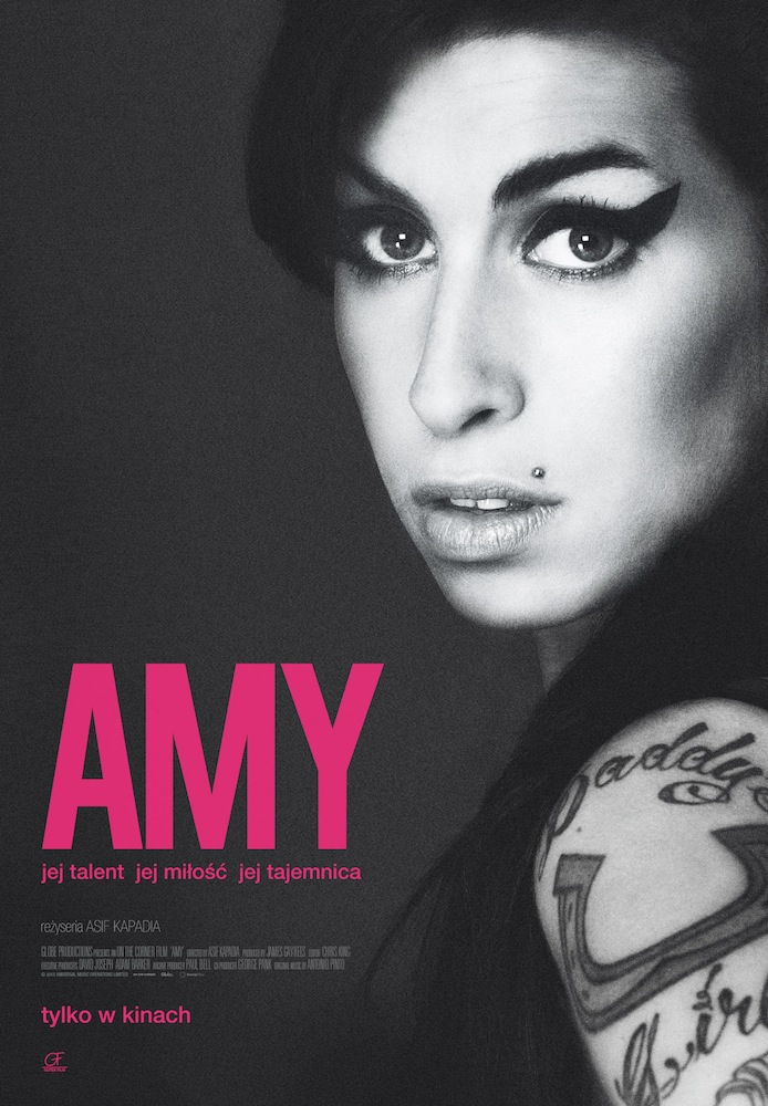 "Best Music Film Winner Amy Winehouse's ""Amy"""