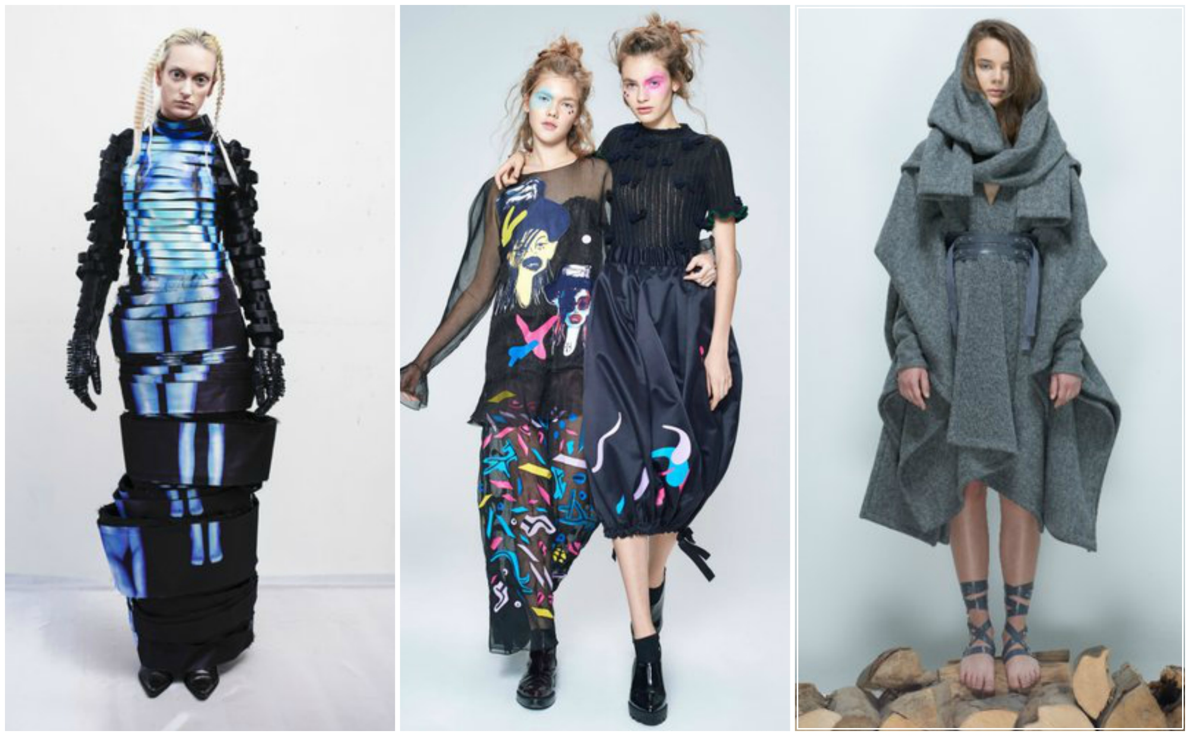 Looks from Austria, Ukraine, and Slovakia Utopias