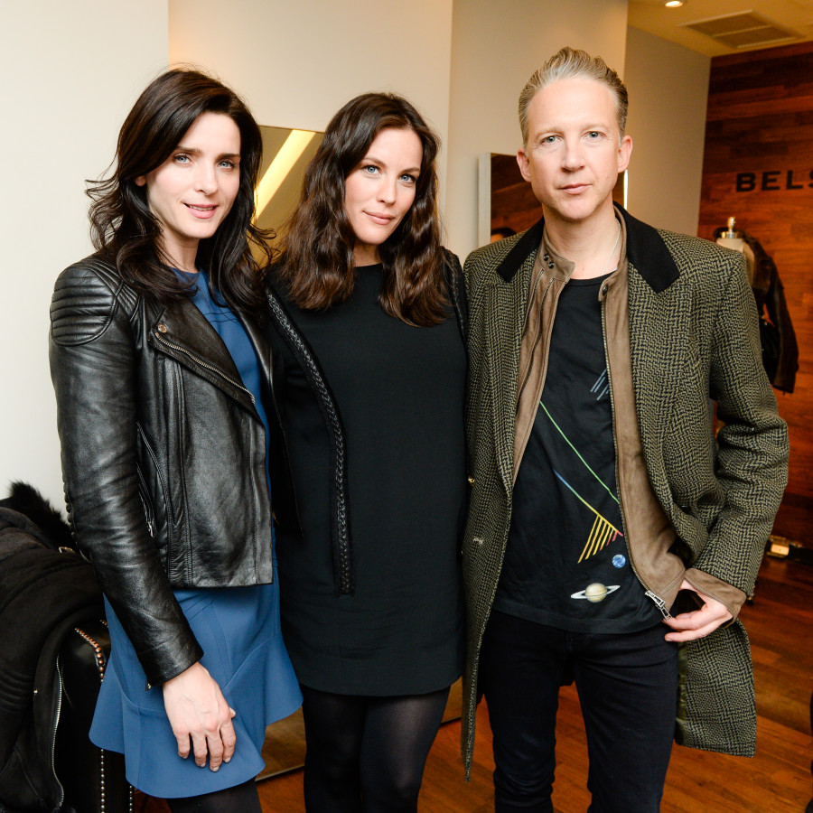 Jefferson Hack, Liv Tyler, Michele Hicks