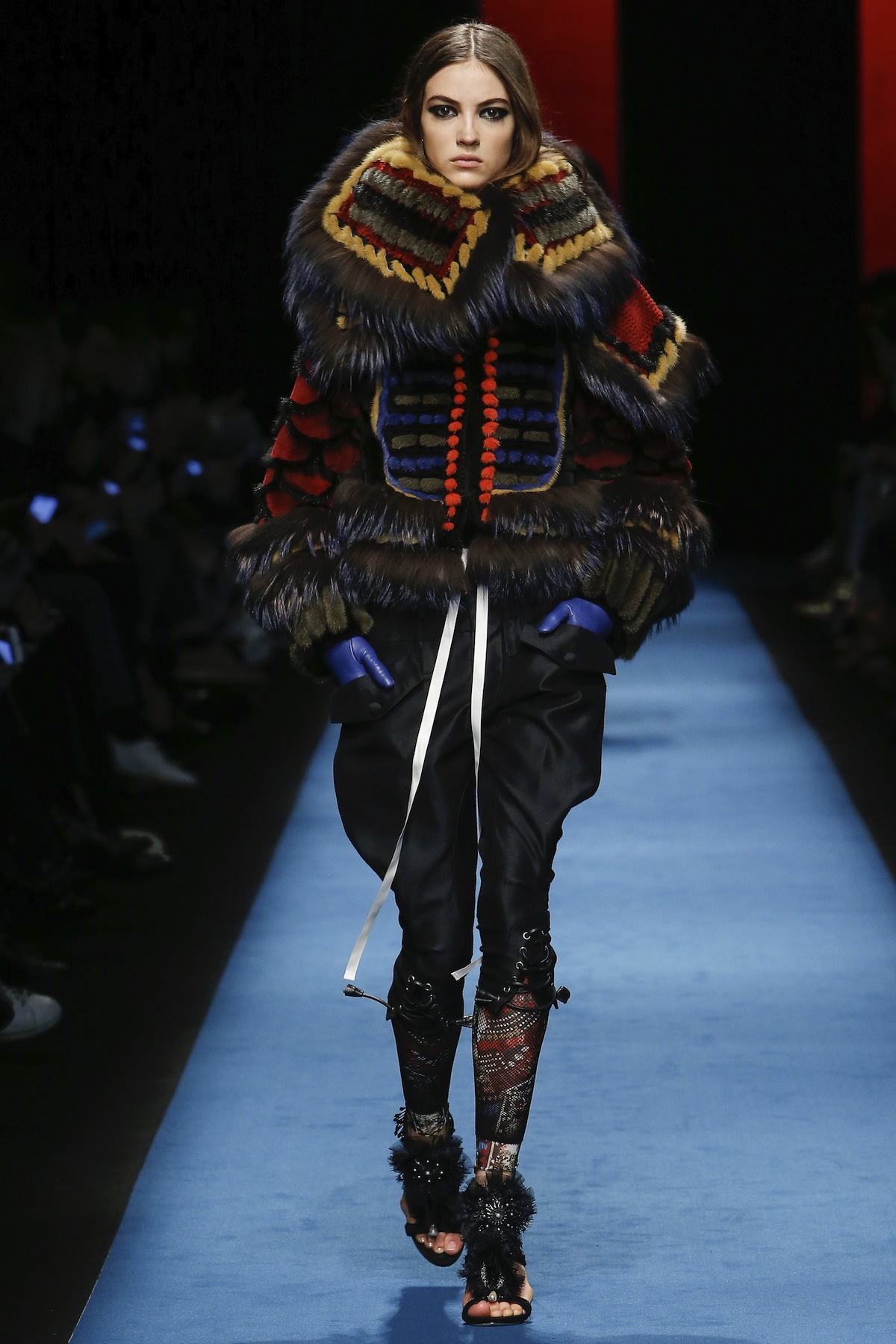 Dsquared2 milan fall winter 2016 fashion show the for Milan show 2016