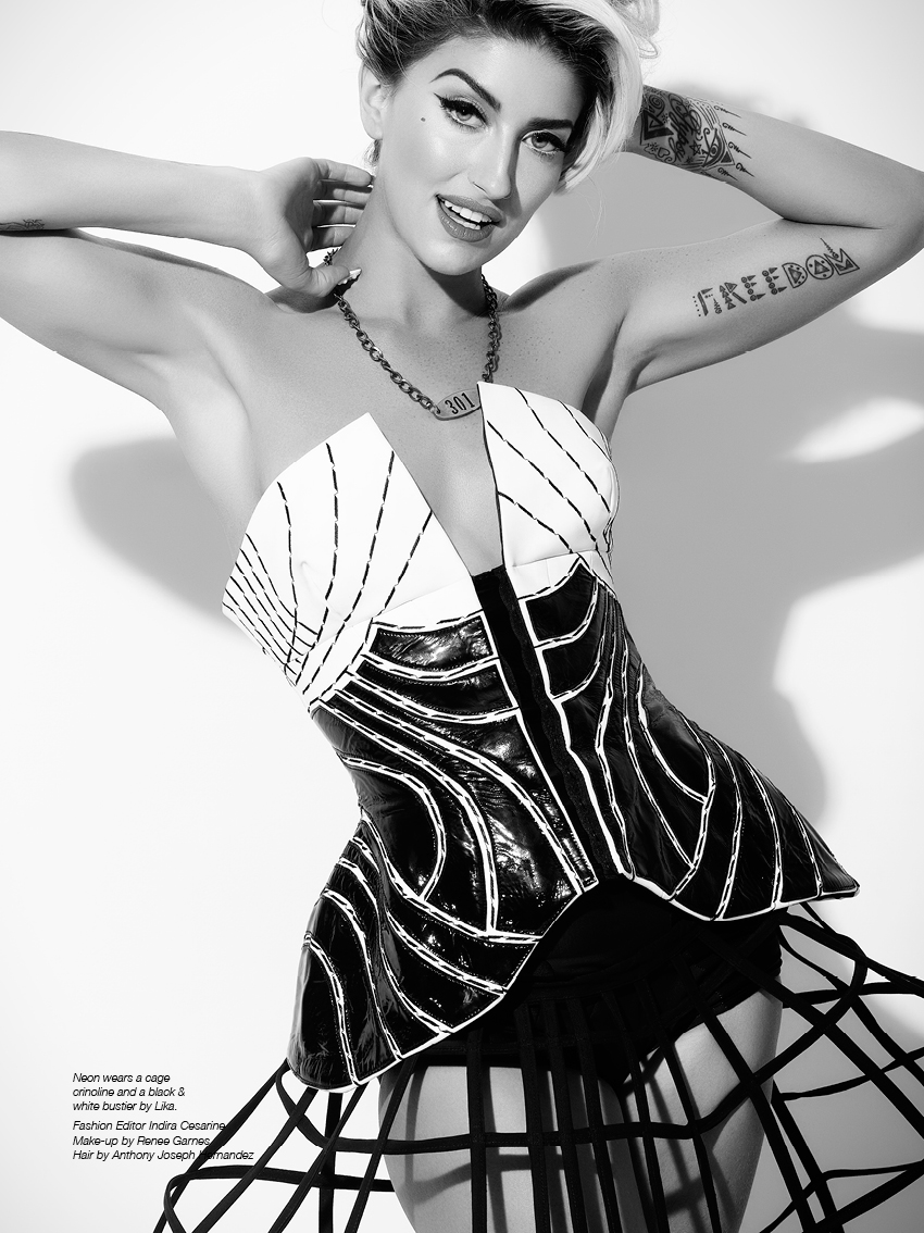 Neon Hitch - The Untitled Magazine - Photography by Indira Cesarine-003