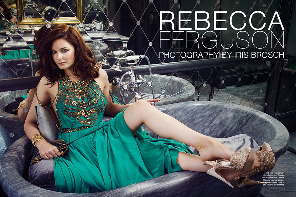 Rebecca Ferguson - Iris Bosch - The Untitled Magazine_1