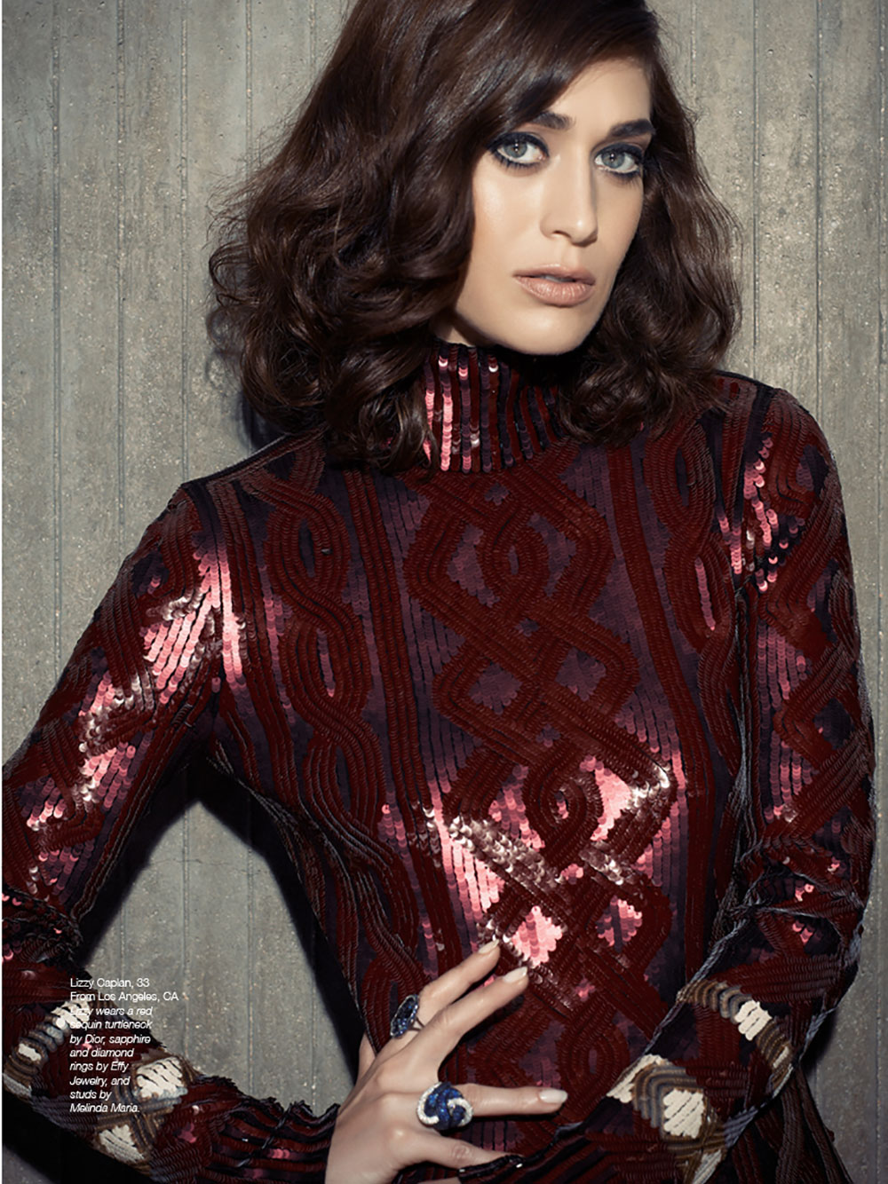 The Untitled Magazine GirlPower Issue - Lizzy Caplan - Photography by Indira Cesarine 1