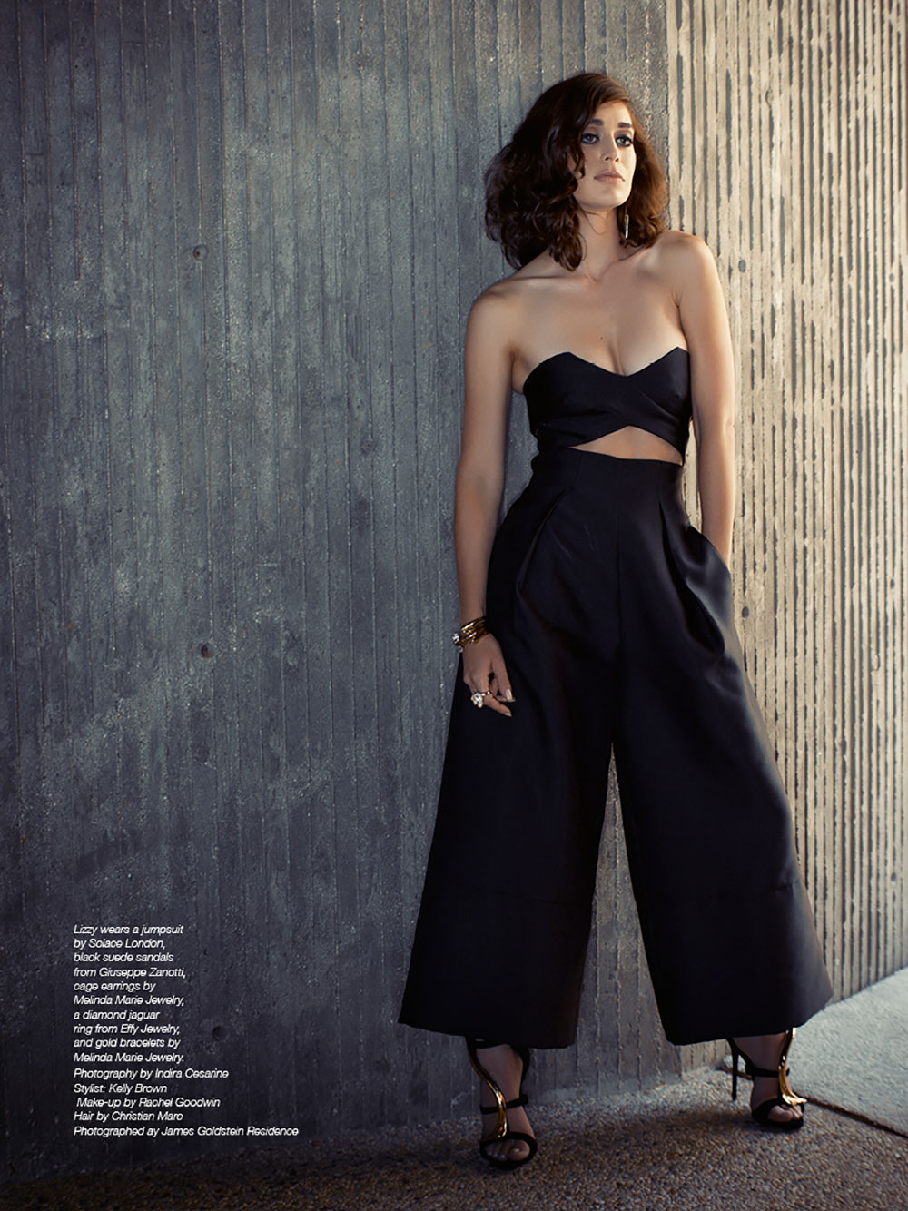 The Untitled Magazine GirlPower Issue - Lizzy Caplan - Photography by Indira Cesarine 6