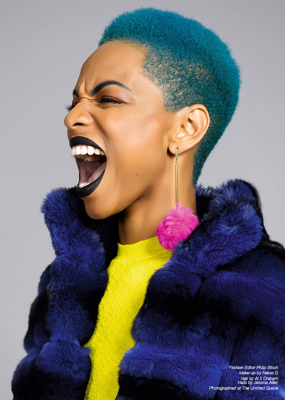 The Untitled Magazine GirlPower Issue - Sharaya J - Photography by Indira Cesarine 5