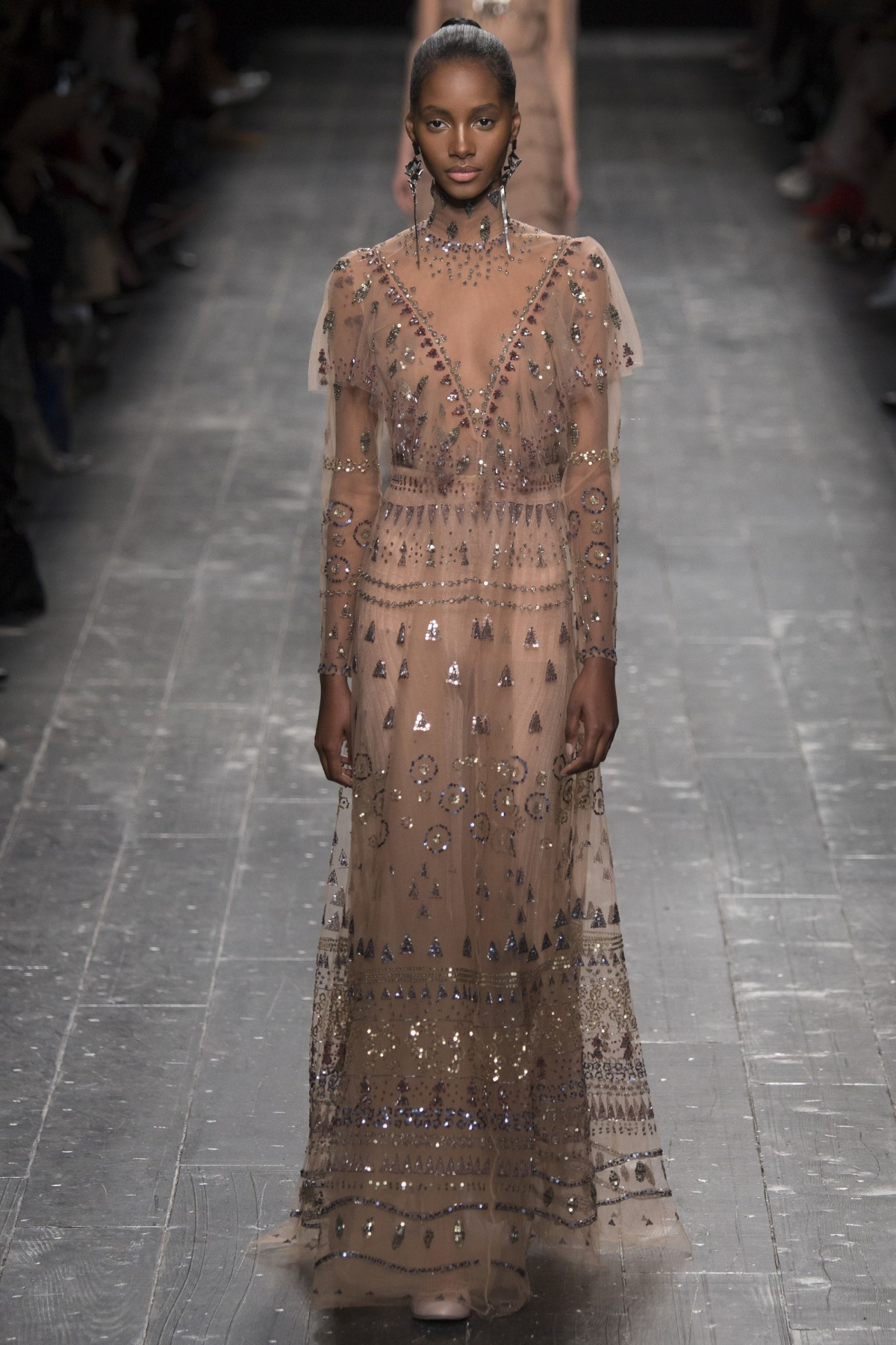 A look from Valentino's Fall 2016 Collection