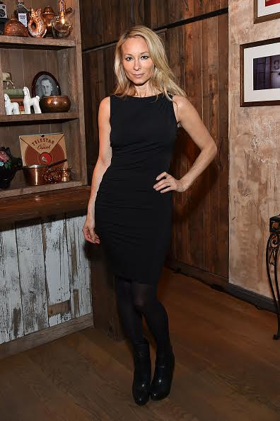 Indira Cesarine attends At Large Magazine's event celebrating Cover Star Jack Huston at Elyx House