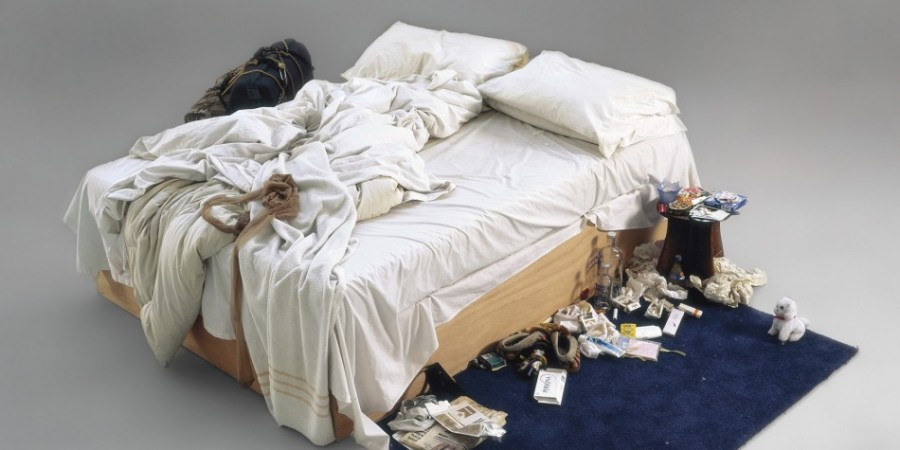 Emin's iconic feminist installation, 'My Bed' from 2000